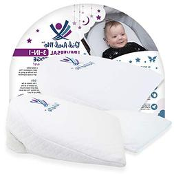 3 in 1 Universal Bassinet Wedge | Elevated Sleeping Pillow H