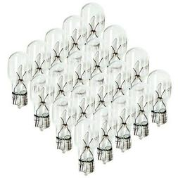 20 pcs T5 Wedge Base Bulbs 7 Watt to Replace 6XT5-12V-7W- NE