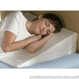 """7 """" Foam Bed Wedge Pillow w/Cover NEW + FREE SHIPPING"""