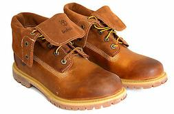 Timberland 8307A Woman's Authentics Suede Roll-Top Boots
