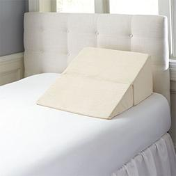 Contour Products Folding Bed Wedge Pillow, 7 Inches X 24 Inc