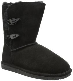 Womens Bearpaw Abigail 8-inch Sheepskin-lined Suede Boot