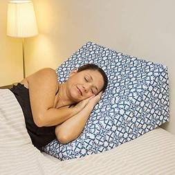 Acid Reflux 12'' Wedge Pillow - Memory Foam Bed Wedges. Pill