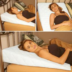 """Acid Reflux Wedge 9"""" Triangle Wedge Pillow - Snoring Pillow"""