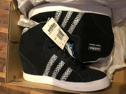 Adidas Women's Originals Basket Profi Up Wedge Shoes Sz 9