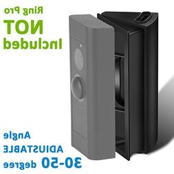 Adjustable  Angle Mount for Ring Video Doorbell Pro , Homono