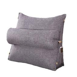 Adjustable Cotton Back Wedge Cushion Pain Relief Pillow Offi