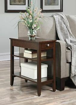 Convenience Concepts American Heritage 3-Tier End Table with