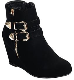ankle strappy buckle zipper wrapped