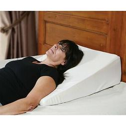Support Plus Bed Wedge Memory Foam Pillow - Washable, Remova