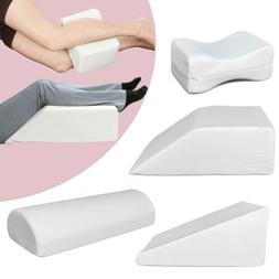bed wedge pillow memory foam body positioner