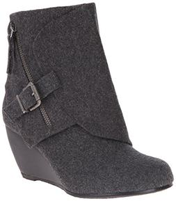 Blowfish Women's Bilocate Boot, Grey Tone Flannel, 6 M US