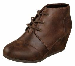 Skechers Bobs High Notes Bell Kick Boots Womens Ankle Casual