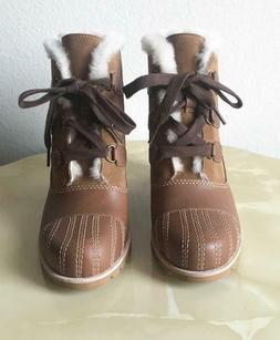BRAND NEW $240 UGG AUSTRALIA ALASDAIR WATERPROOF WEDGE BOOTI