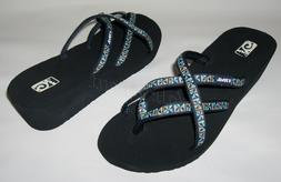 BRAND NEW TEVA MUSH MANDALYN WEDGE OLA 2 FLIP FLOPS THONGS O