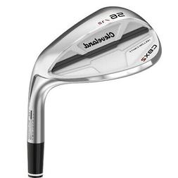 CLEVELAND CBX 2 WEDGE MEN'S SATIN FINISH STEEL SHAFT - NEW -