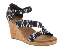 TOMS Women's Clarissa Novelty Textile Wedge, Size: 6.5 B US,