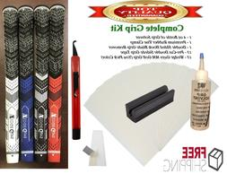 Complete Golf Grip Kit and Grips 13 Wedge Guys Multi Compoun
