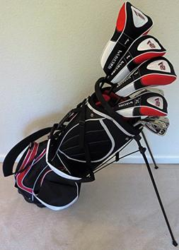 "Mens Complete Golf Set Custom Made Clubs for Tall Men 6'0""-"