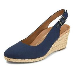 Vionic Coralina Women's Supportive Wedge Navy - 11 Wide