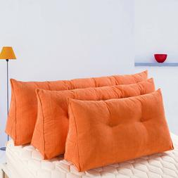 Daybed Pillow Triangular Wedge Backrest Cushion Reading Bols