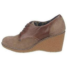 Dr. Scholl's Cate wedge oxfords ADDS HEIGHT sz 9.5 Md