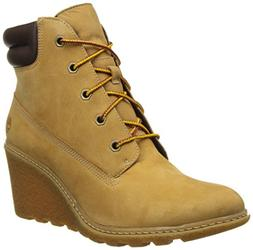 "Timberland Women's Earthkeepers  Amston 6"" Boot Wheat 10 B U"