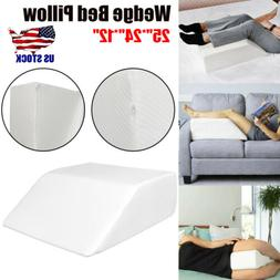 Elevating Leg Rest Wedge Bed Pillow Acid Reflux Pain Support