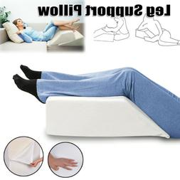 Elevating Leg Support Wedge Pillow Back Rest Bed Cushion For