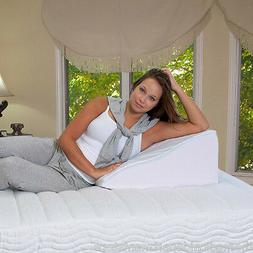 Elevating Wedge Bed Pillow - Premium Therapeutic Pillow - Be
