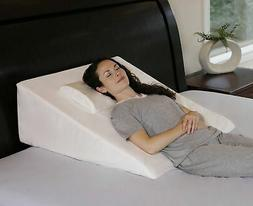 InteVision Extra Large Bed Wedge Pillow  & Headrest Pillow..