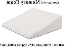 InteVision Foam Wedge Bed Pillow  with High Quality, 400 Thr