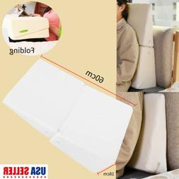 Folding Wedge Incline Memory Foam Pillow Bamboo Cover for Re
