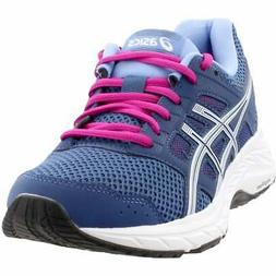 ASICS Gel-Contend 5  Casual Running  Shoes - Blue - Womens