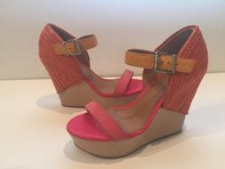 Gianni Bini GB Women Shoes Leather Upper Platforms & Wedges