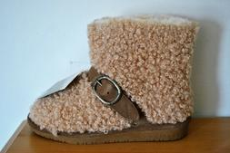 BEARPAW Girls' Treasure Youth Taupe Beige Wool Blend Boots -