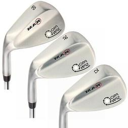 Ram Golf Pro Spin 3 Wedge Set - 52° Gap, 56° Sand, 60° Lo