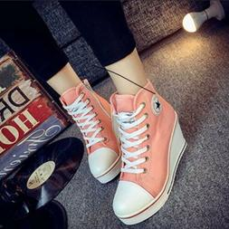 Wedge Heel High Tops