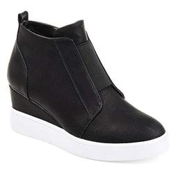 platform boots breathable wedge booties