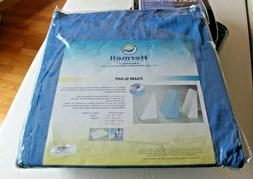 Hermell Cover for Bed Wedge Pillow, Blue, 24 x 24 x 10