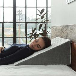 home whitney wedge pillow with gel memory