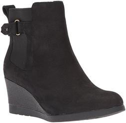 UGG Women's Indra Combat Boot, Black, 8.5 M US