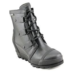 Women's Sorel Joan Wedge Rain Boot, Size 8 M - Black