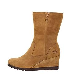 UGG Womens Joely Wedge Boot Chestnut Size 6