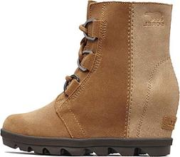 SOREL Kids Girl's Joan of Arctic¿ Wedge II  Camel Brown/Cor