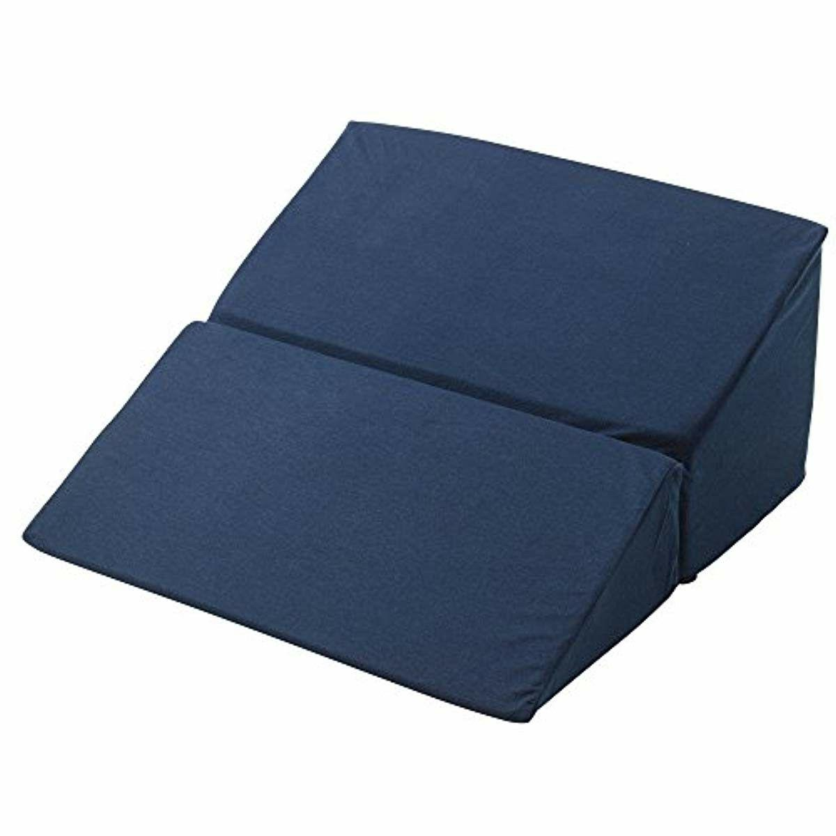 12 in large folding bed wedge pillow