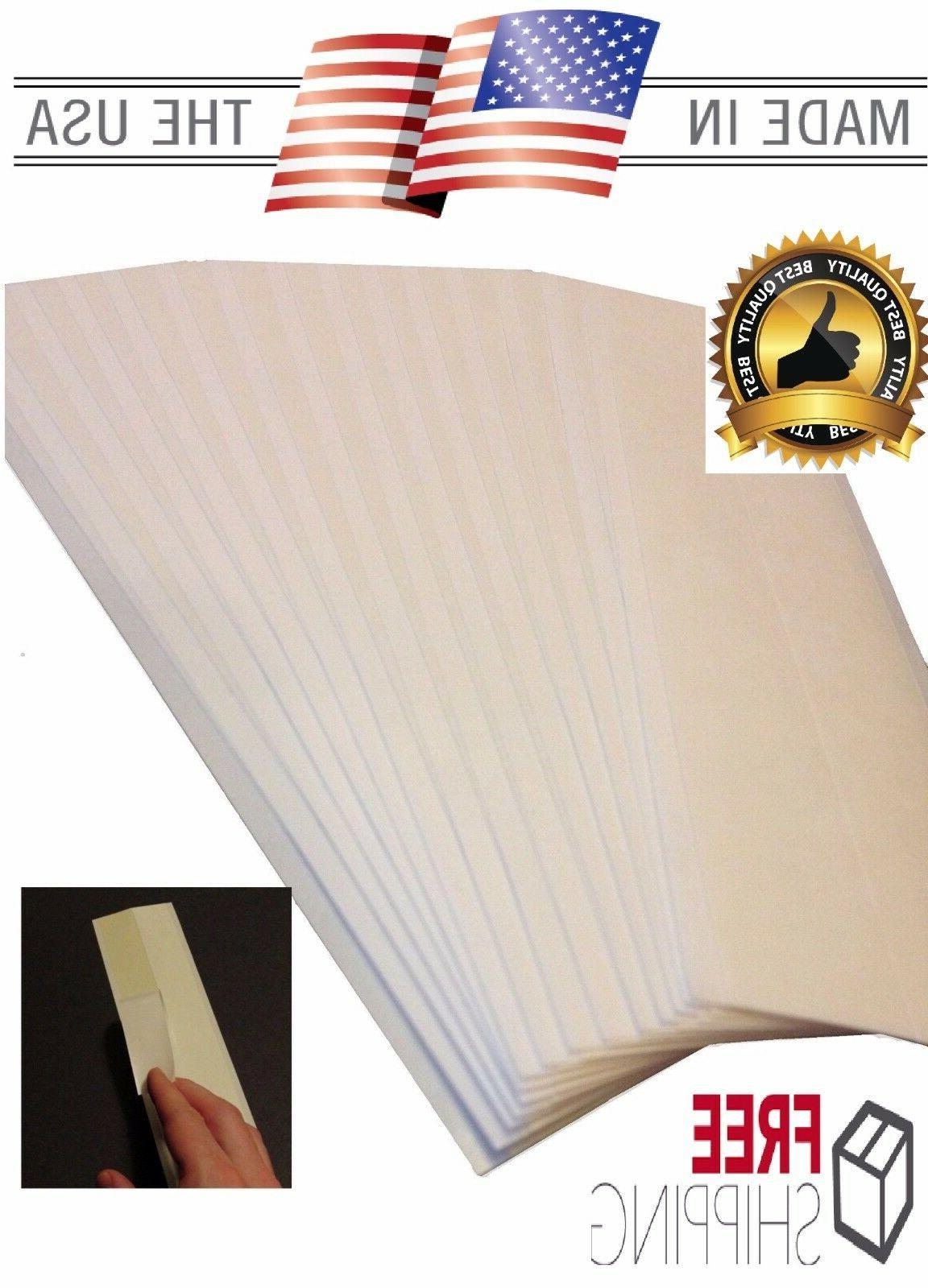 "Tape Strips Double 2""x Premium Peel"