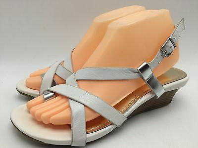 6d3 sandals mini wedges casual leather women