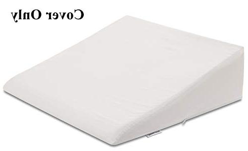 """InteVision 400 Count, 100% Egyptian Cotton Pillowcase. Designed to Fit 7.5"""" of Foam"""