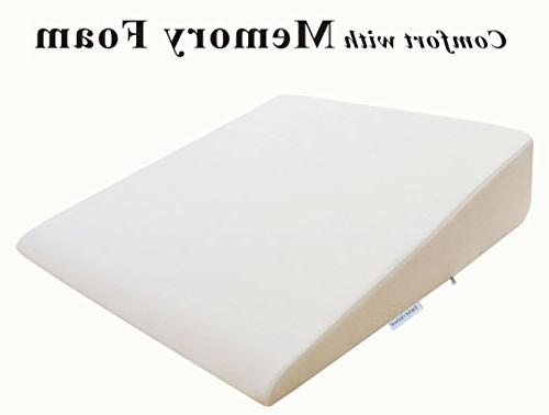 """InteVision Large 2"""" Foam Layer Firm Foam Provide Post Surgery, & Back Pain"""